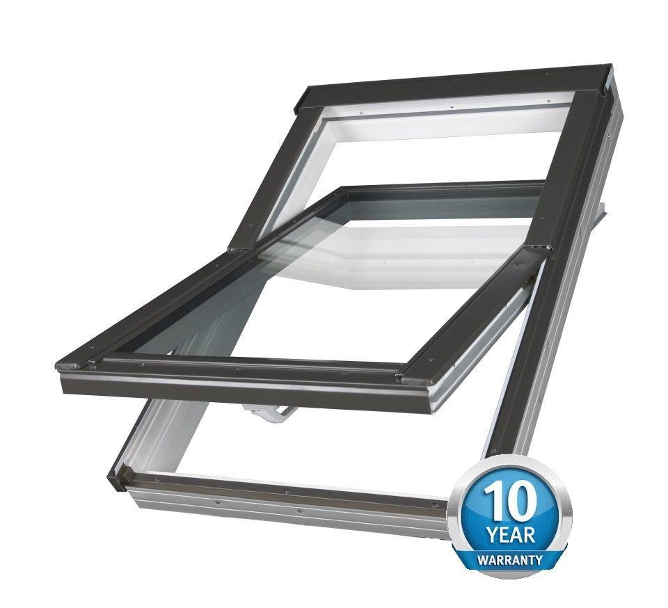 Optilight Skylight Roof Window Pvc 78 215 98 With Free