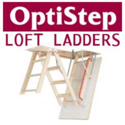 OptiStep Wooden Loft Ladder