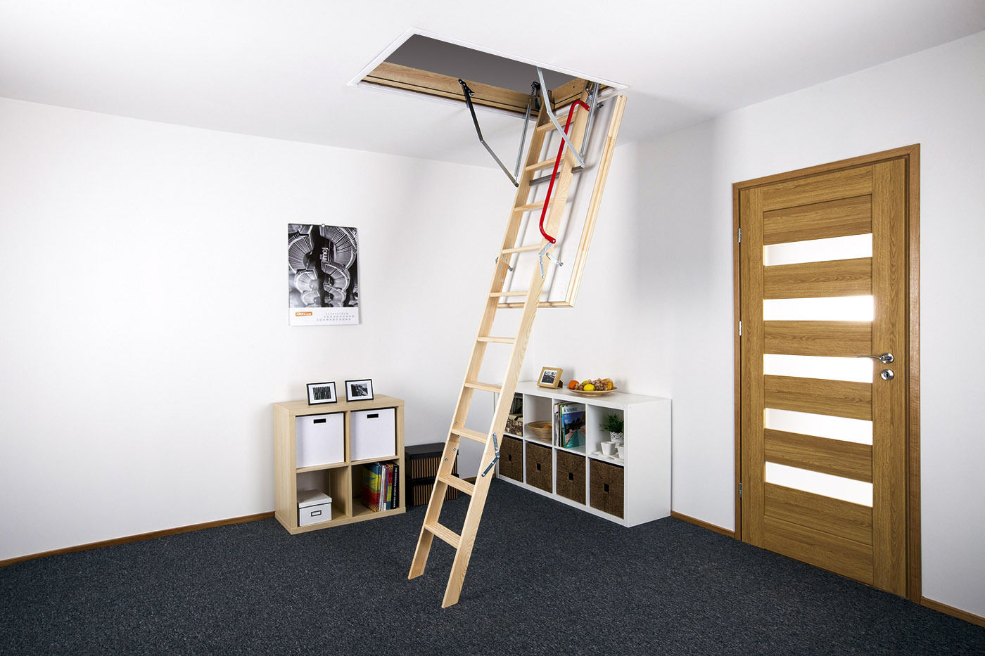 Optistep Loft Ladder Amp Hatch 70cm X 120cm Ak Roof Windows