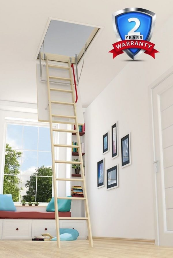 OPTISTEP LOFT LADDER & HATCH 70CM X 120CM
